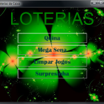 Loteria Tela Inicial