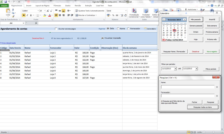 Agenda 2014 Excel Autos Post