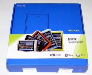 Caixa do Nokia N8