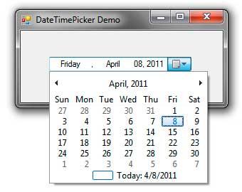 Datetimepicker tradicional