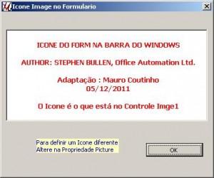 Userform com Ícone próprio