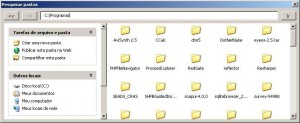 Windows Explorer no VBA usando o controle WebBrowser