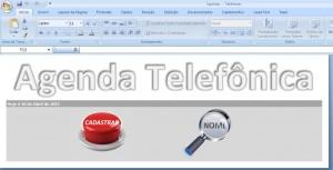 Agenda Telefonica - Apresentacao