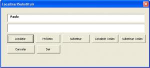 Caixa de Pesquisa personalizada no VBA