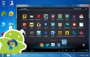 Android rodando no Windows